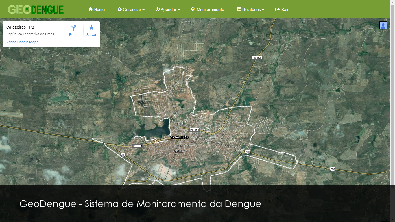 Site da Prefeitura de Monte Horebe
